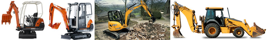 Digger Hire in Kenilworth and Warwickshire