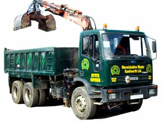 Grab Lorry Hire in Kenilworth and Warwickshire